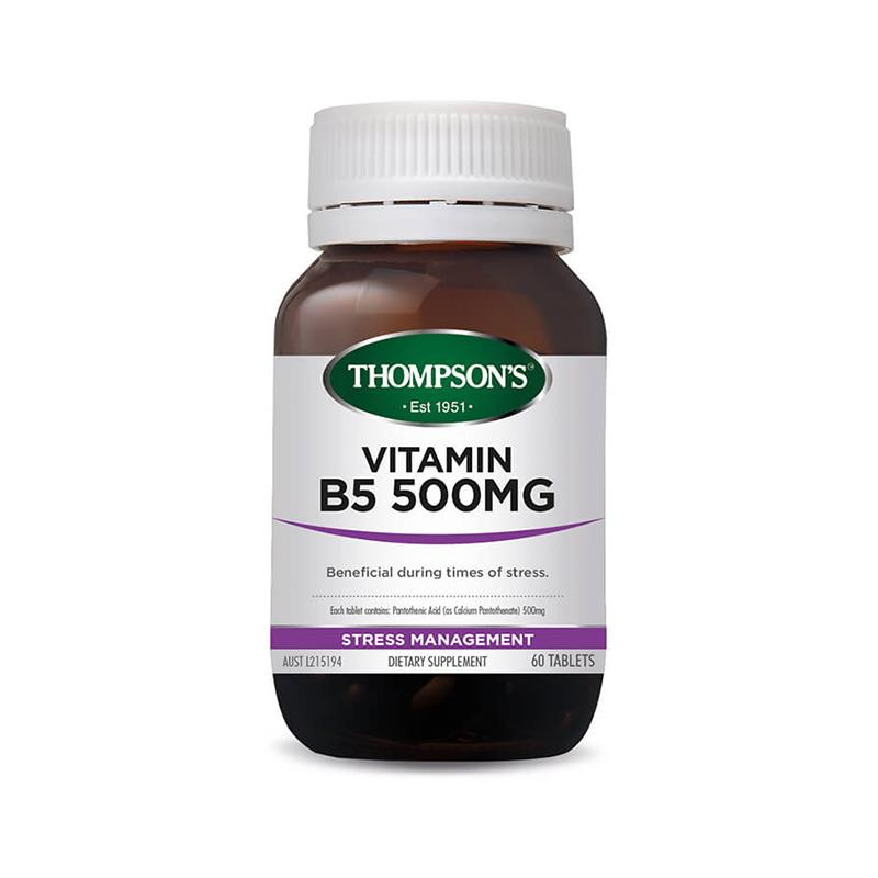 Vitamin B5 500mg Tablets